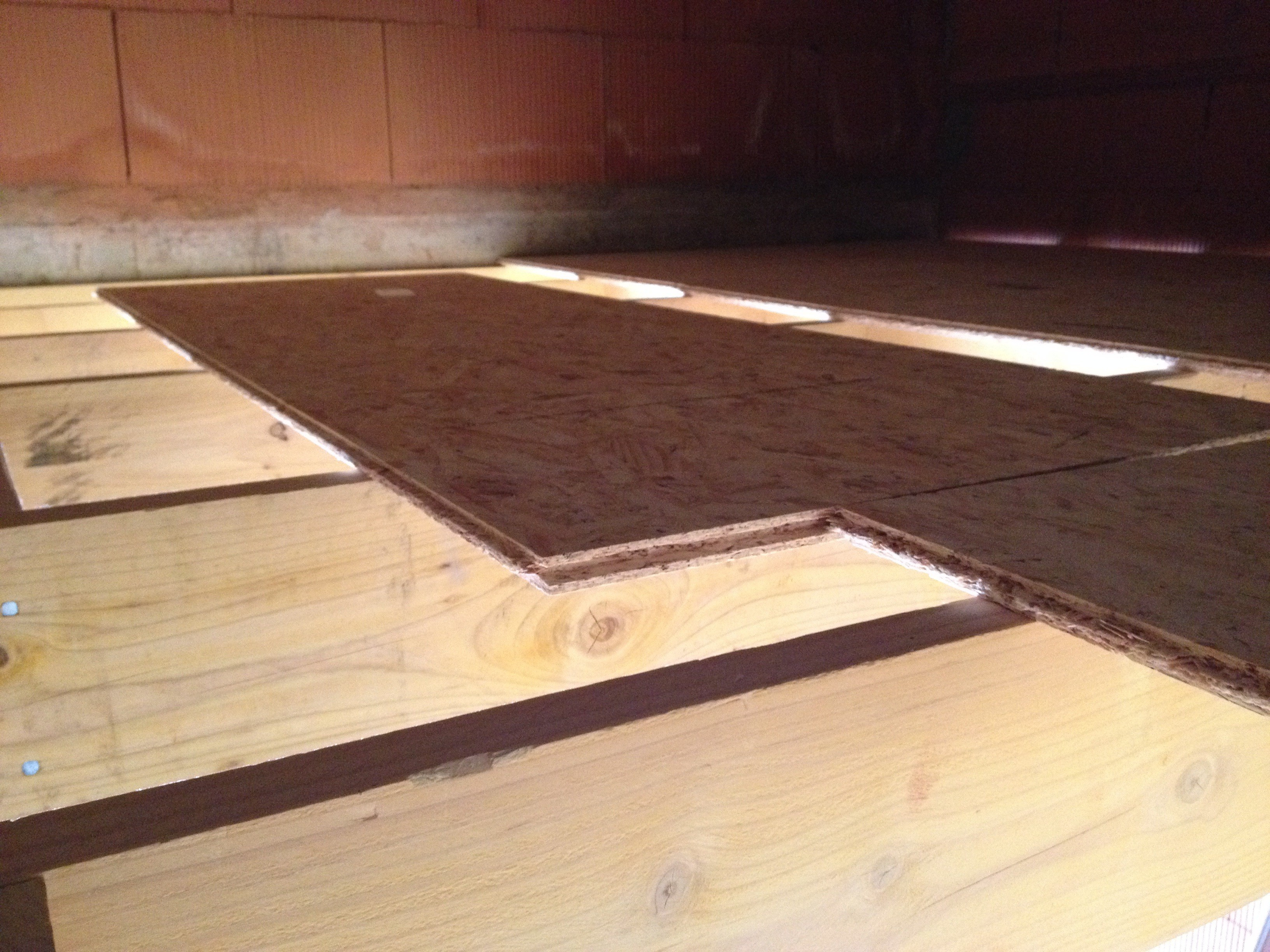 Carrelage sur plancher osb 28 images in the wood for for Pose carrelage sur osb